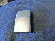 COLLECTABLE SHINY CHROME ZIPPO  LIGHTER UNTESTED NO FUEL NO FLINT